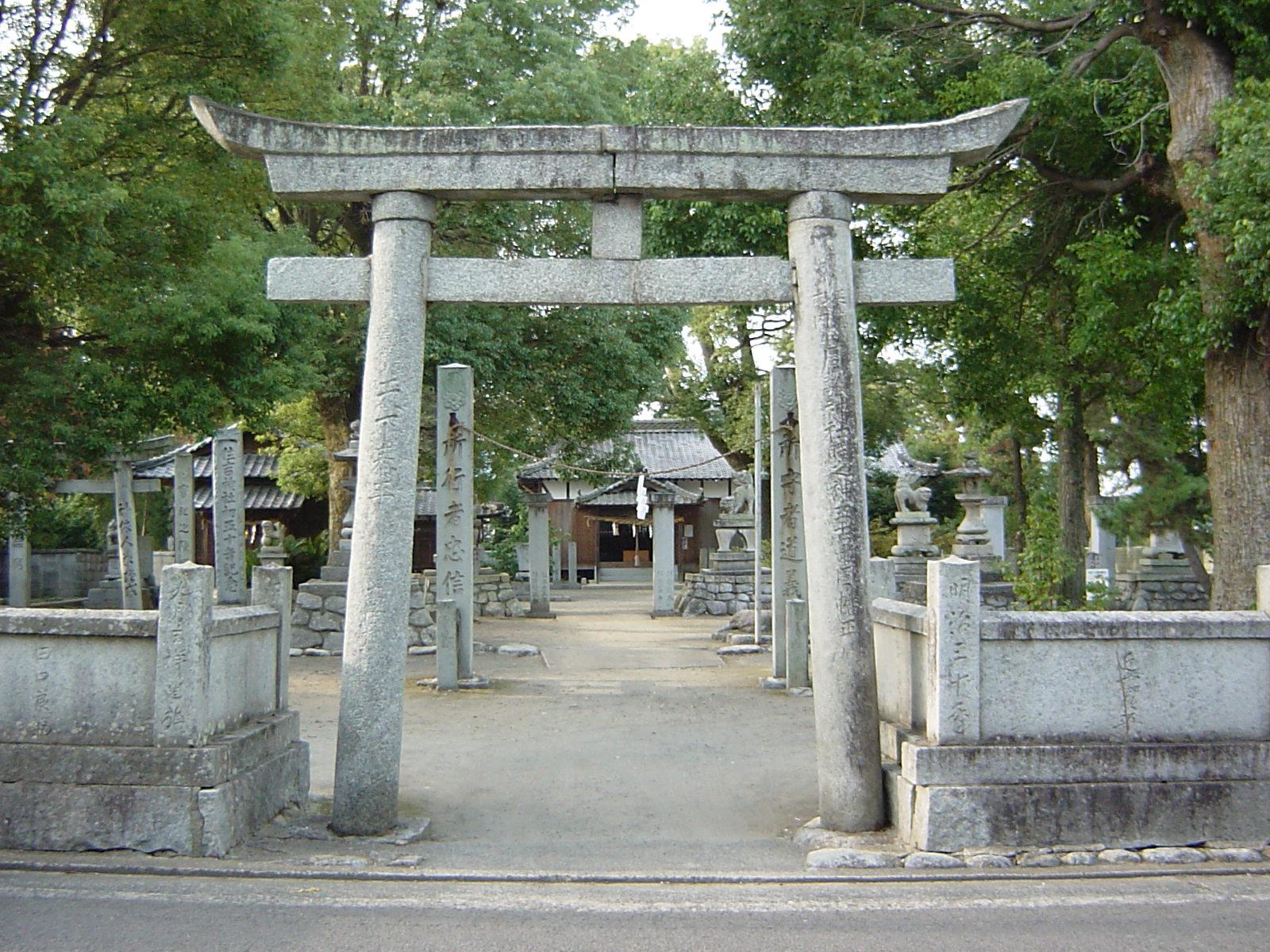 周敷藤原神社