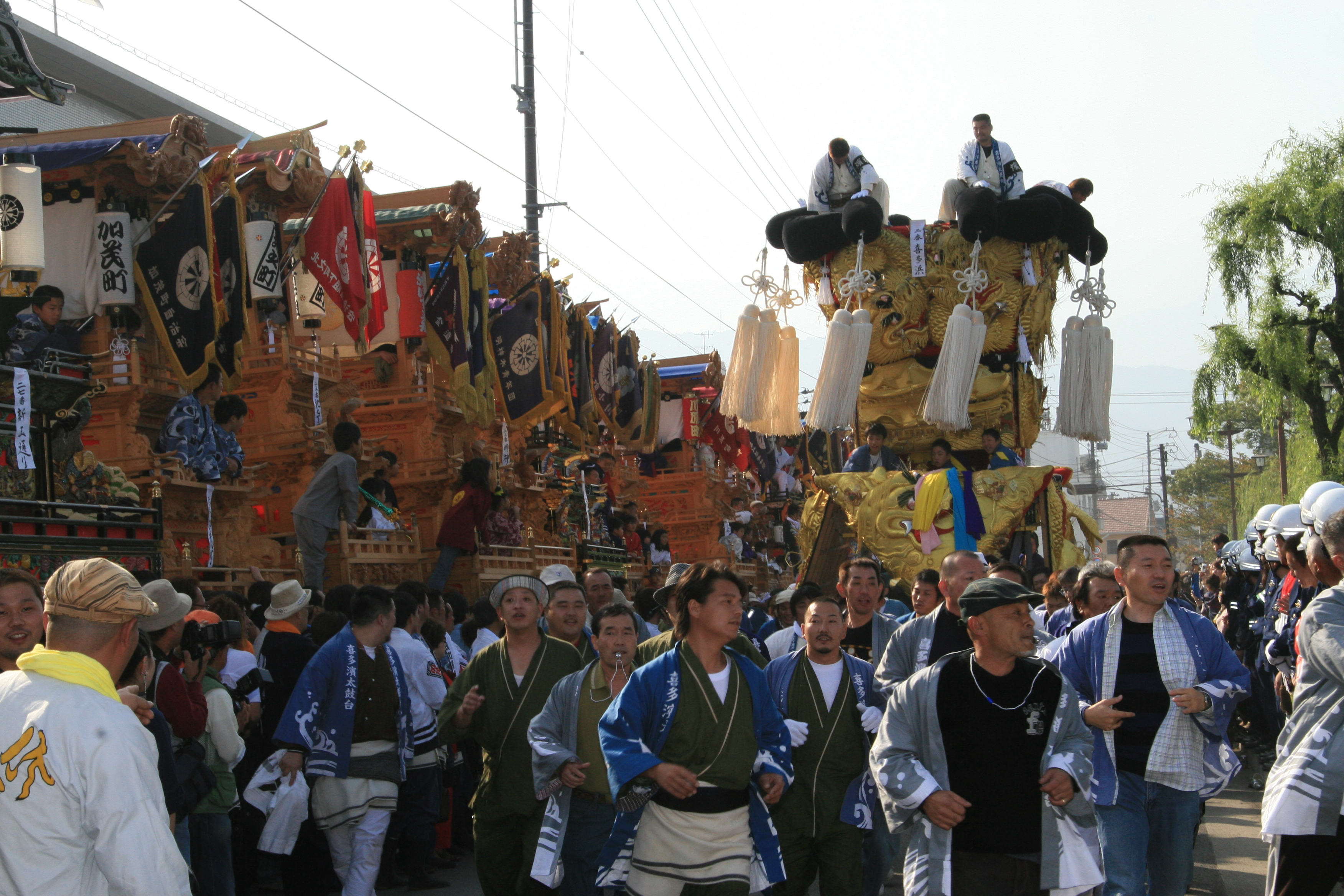 西条まつり(伊曽乃神社)