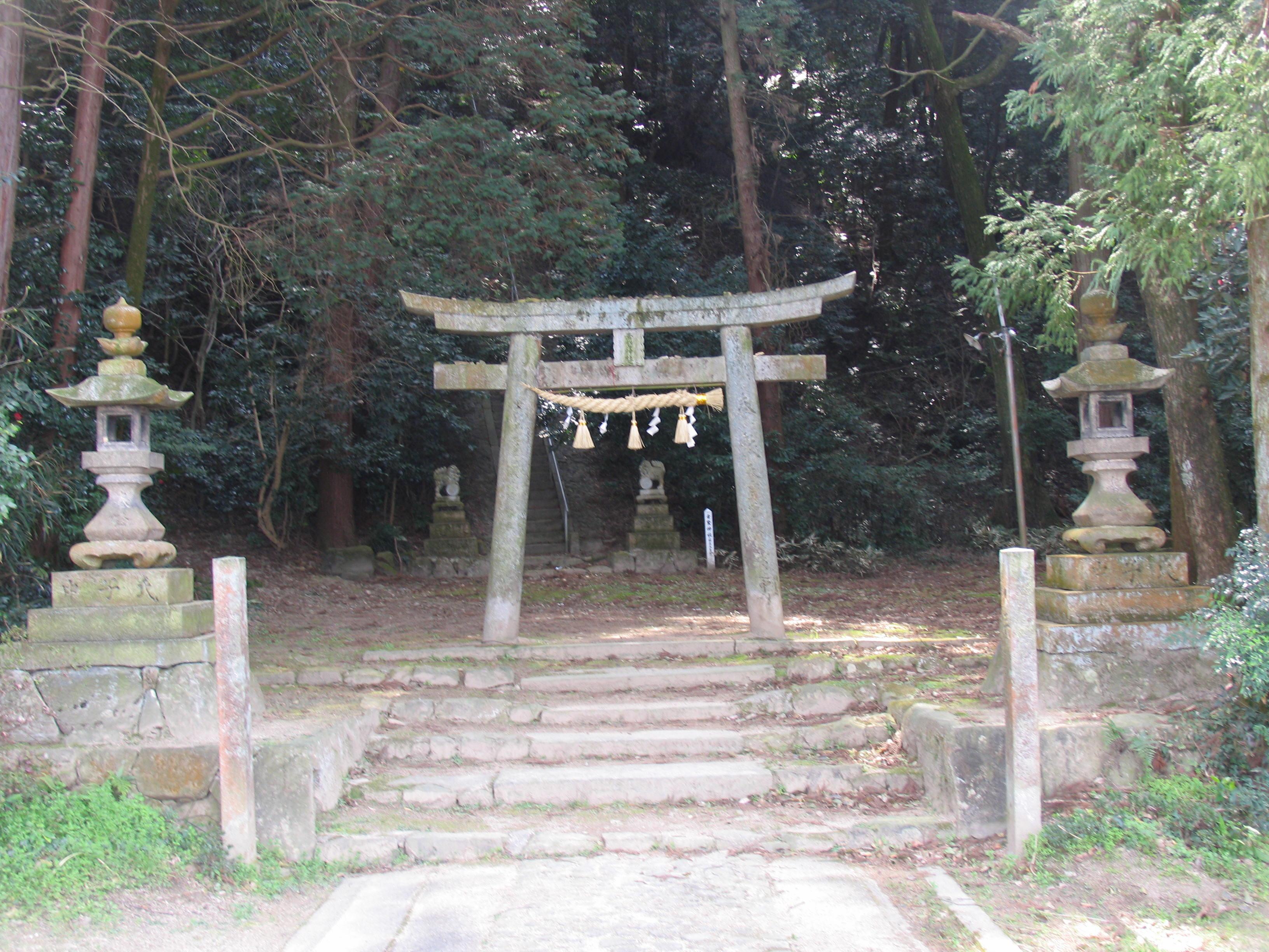 素鵞神社、天皇庵とお産能さん